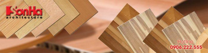 Đây cũng là một ví dụ điển hình của phòng ngủ được sử dụng nhiều vật liệu gỗ công nghiệp