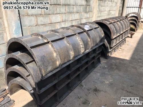 Cốp pha thép tại TPHCM/Cốp pha thép cột tròn