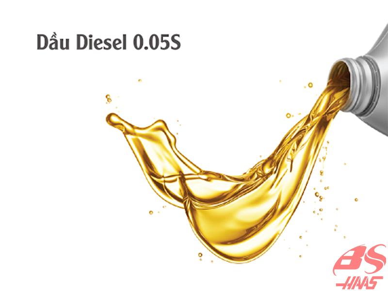 Dầu diesel 0.05s là gì?