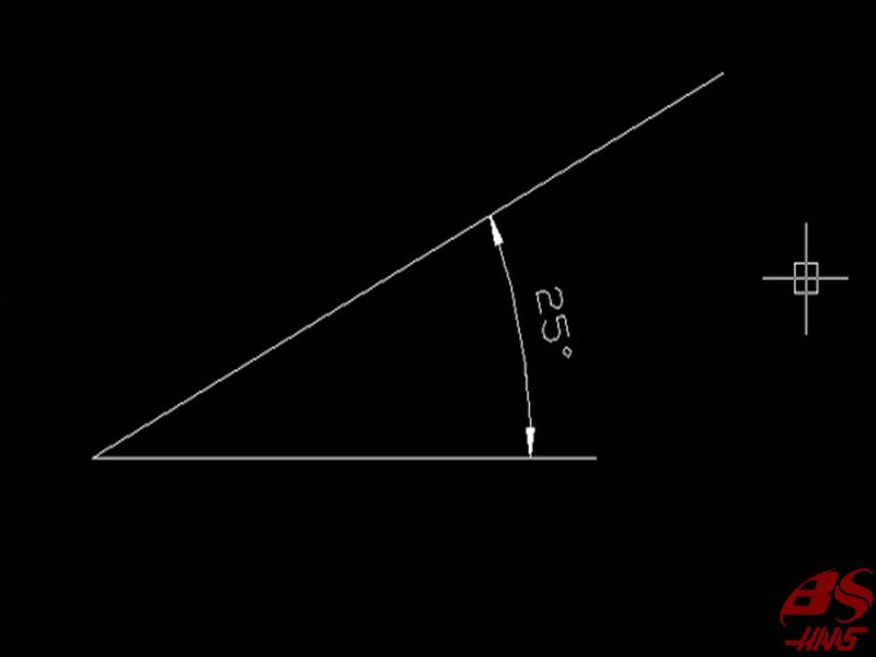 Cách 2: Đo góc giữa hai đoạn thẳng