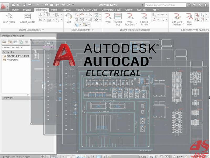 Tính năng chính của phần mềm thiết kế đồ họa điện AutoCAD Electrical