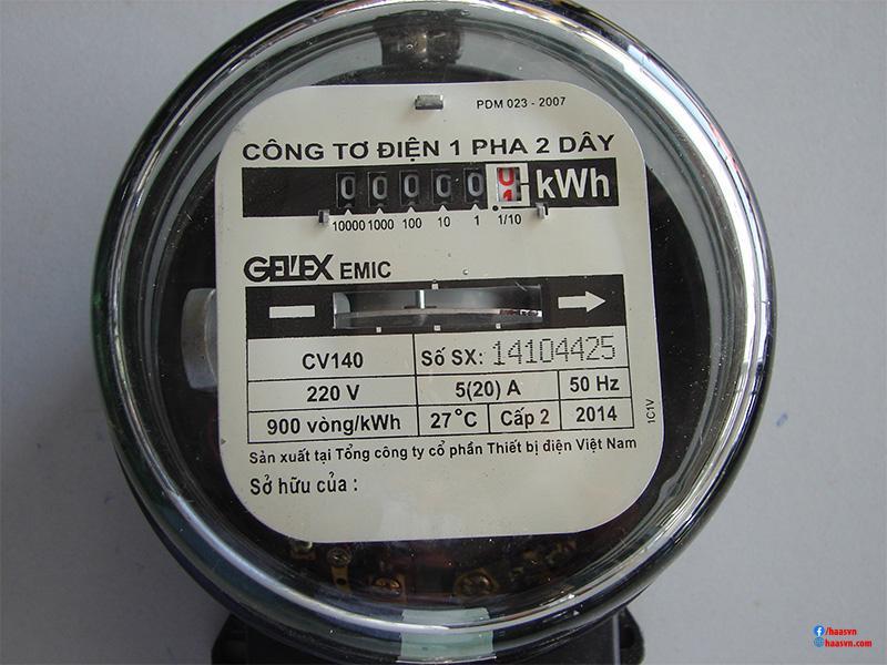 Đơn vị đo công suất điện