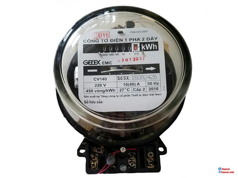 Đồng hồ đo công suất điện 1 pha