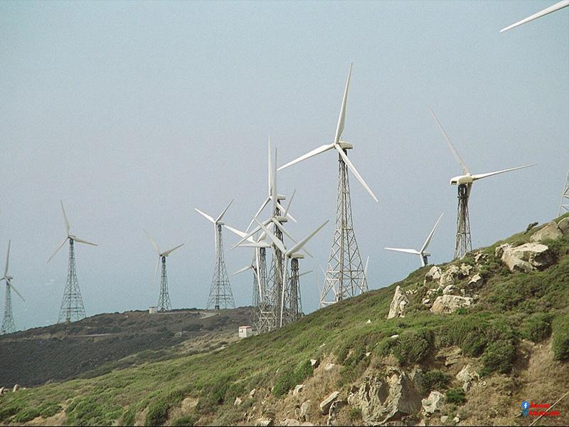 Sự hình thành của năng lượng gió
