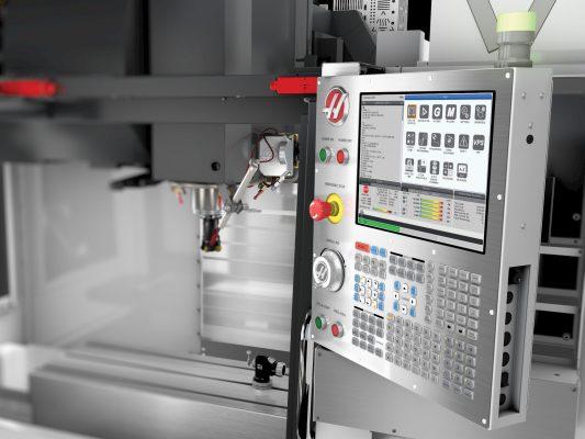 Máy phay CNC Haas đang dùng lệnh G-Code