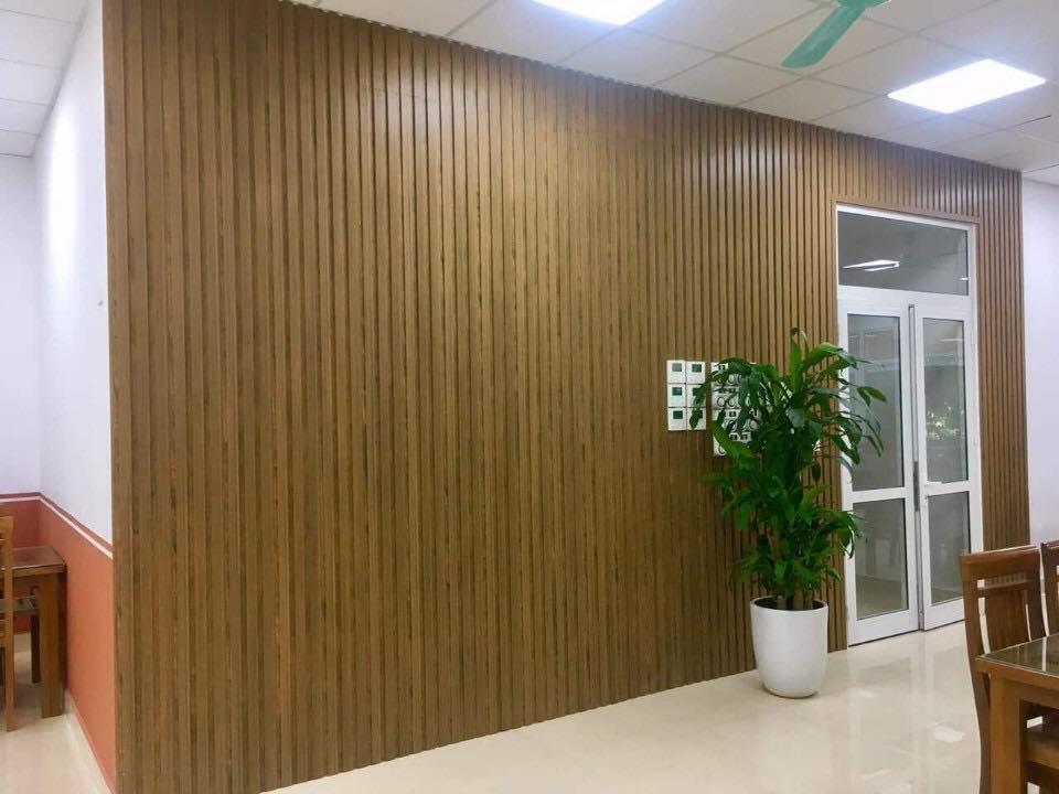 Kỹ thuật thi công gỗ ốp tường trang trí nội thất cho nhà biệt thự đẹp KN307089