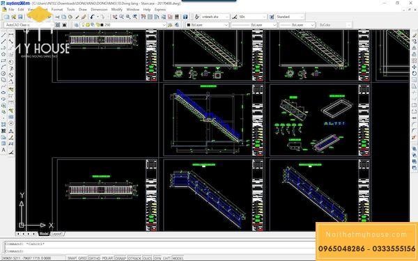Bản vẽ kết cấu sàn deck - 3