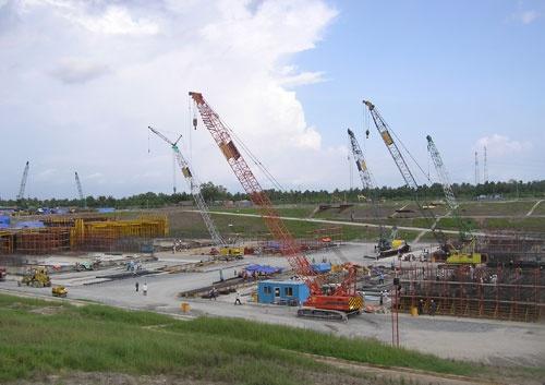 Quá trình xây dựng hầm vượt sông lớn nhất Đông Nam Á - ảnh 1
