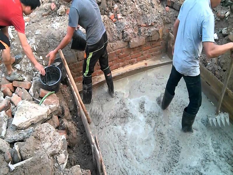 Hướng dẫn biện pháp thi công bê tông lót móng - Kiến trúc sư Angcovat