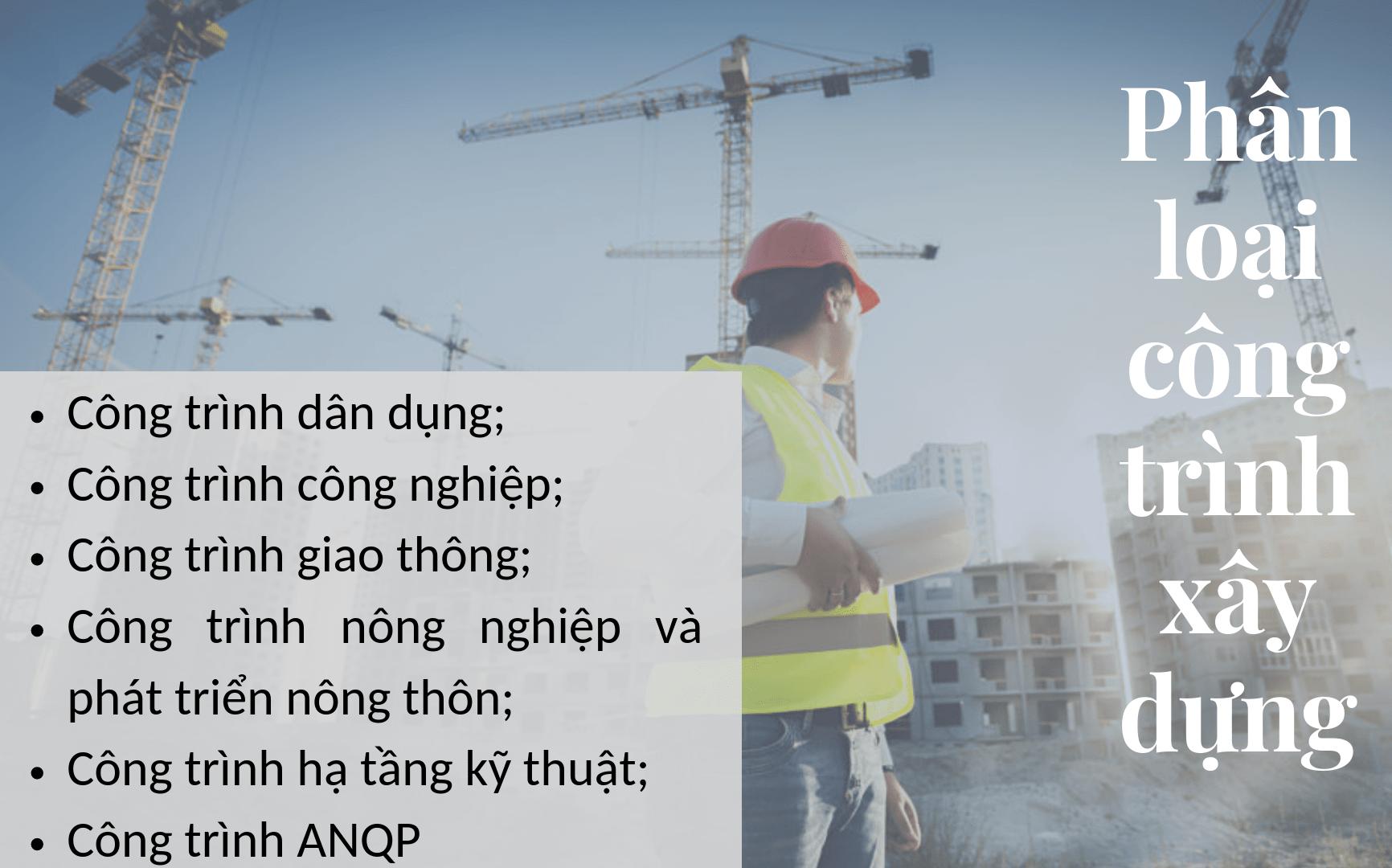 Các loại công trình xây dựng hiện nay
