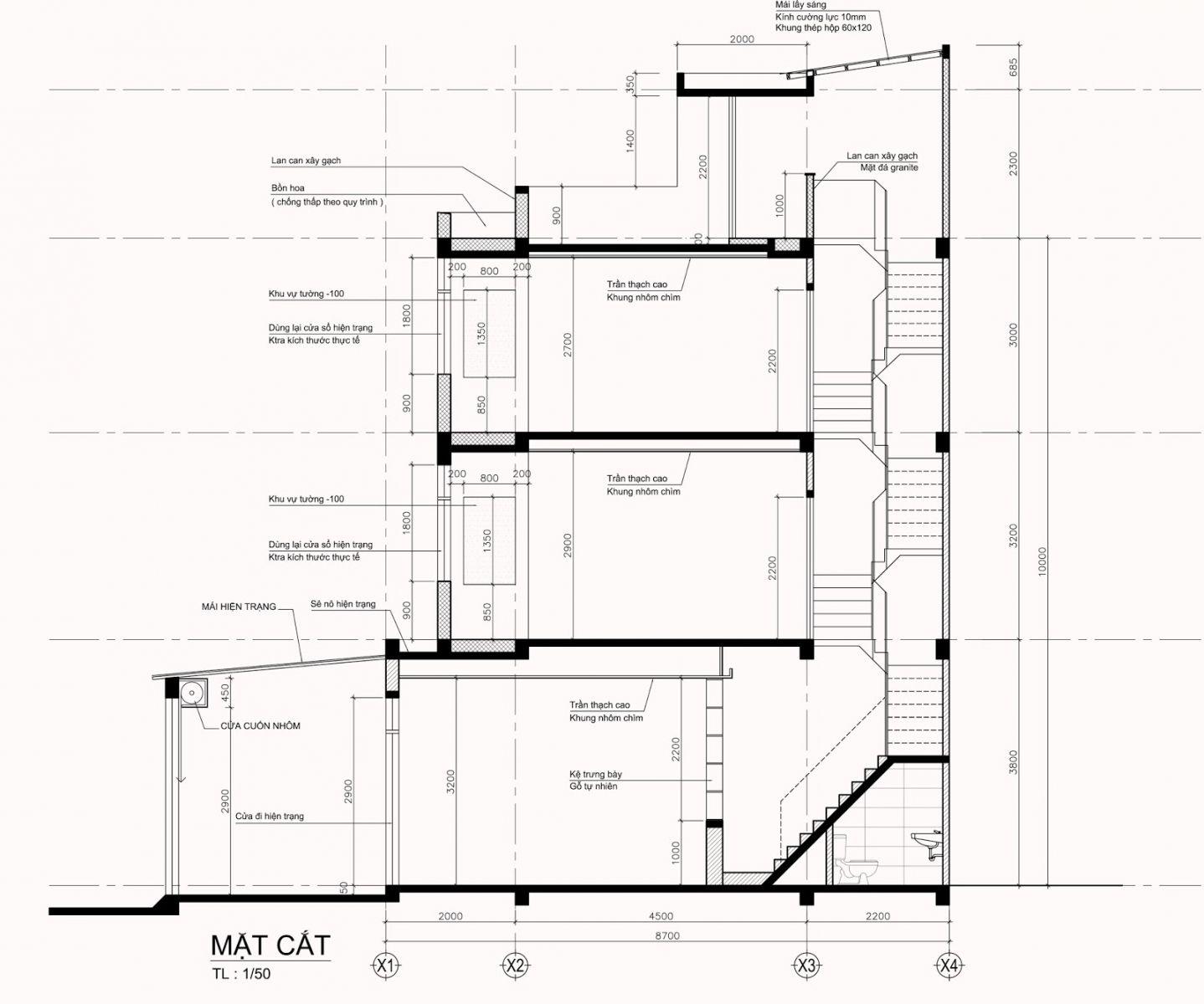 Cách tính m2 xây dựng