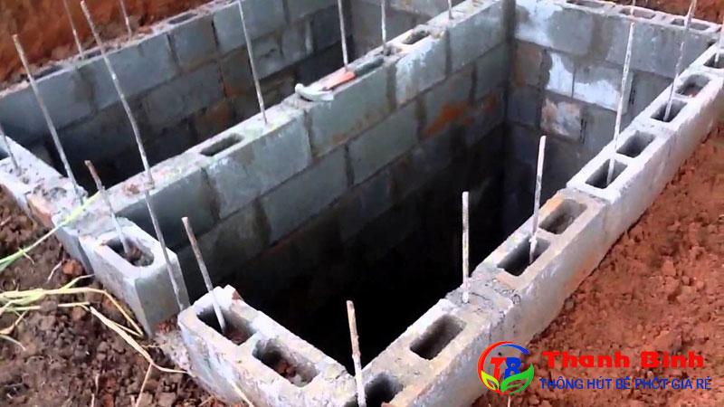 Cách xây bể phốt 2 ngăn đúng tiêu chuẩn kỹ thuật