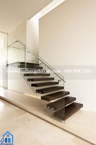 cầu thang bay cho tầng lửng
