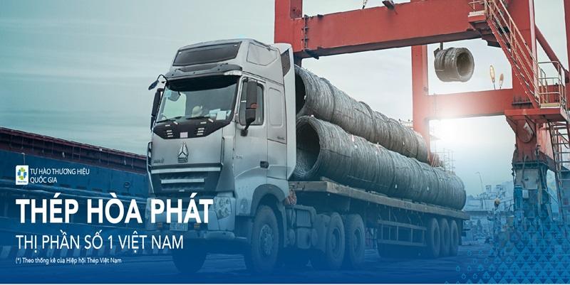 Đại lý thép xây dựng Hòa Phát - phukiencoppha.com.vn