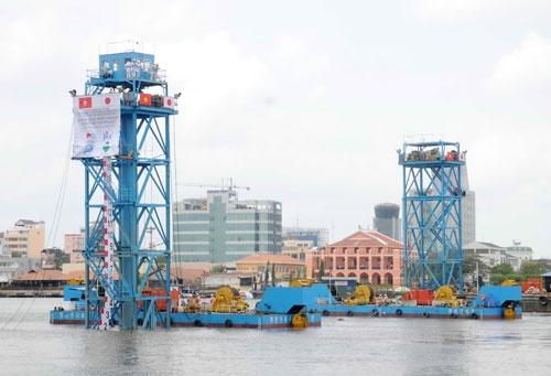 Quá trình xây dựng hầm vượt sông lớn nhất Đông Nam Á - ảnh 20