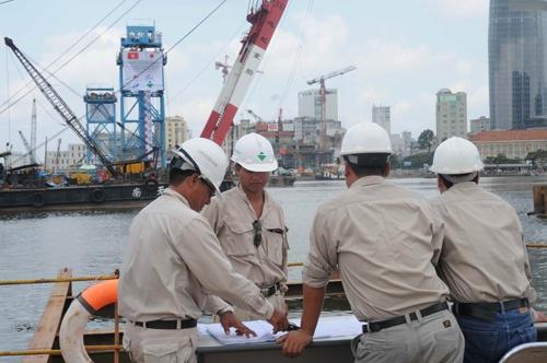 Quá trình xây dựng hầm vượt sông lớn nhất Đông Nam Á - ảnh 19