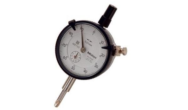 Đồng hồ so Mitutoyo 2046S-60 thiết kế cứng cáp, gia công tỉ mỉ cho độ chính xác cao