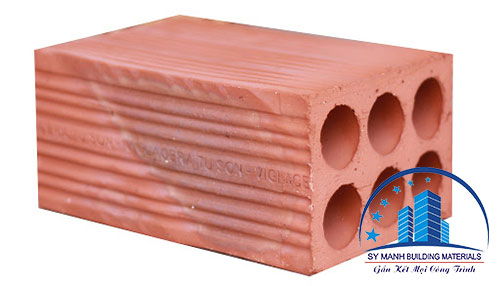 gạch ống 6 lỗ a1