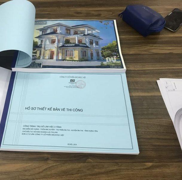 Hồ sơ thiết kế nhà ở
