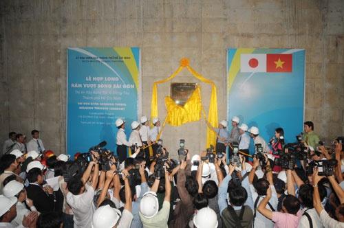 Quá trình xây dựng hầm vượt sông lớn nhất Đông Nam Á - ảnh 25