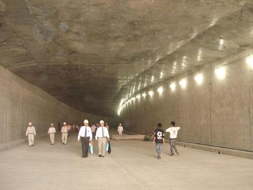 Quá trình xây dựng hầm vượt sông lớn nhất Đông Nam Á - ảnh 24