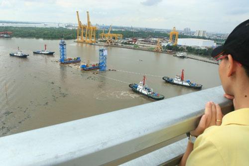Quá trình xây dựng hầm vượt sông lớn nhất Đông Nam Á - ảnh 10