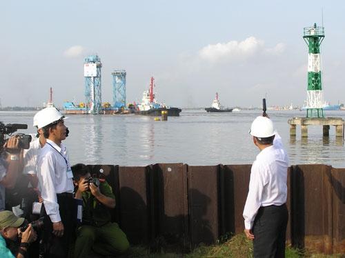 Quá trình xây dựng hầm vượt sông lớn nhất Đông Nam Á - ảnh 7