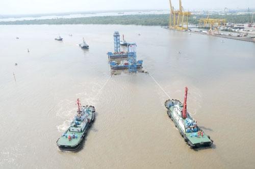 Quá trình xây dựng hầm vượt sông lớn nhất Đông Nam Á - ảnh 8