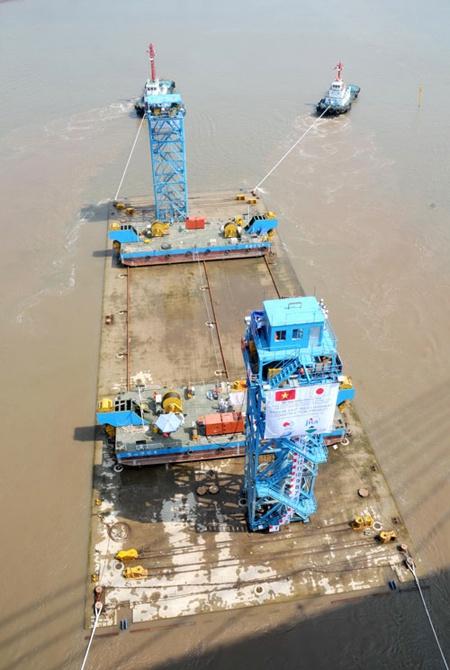 Quá trình xây dựng hầm vượt sông lớn nhất Đông Nam Á - ảnh 17