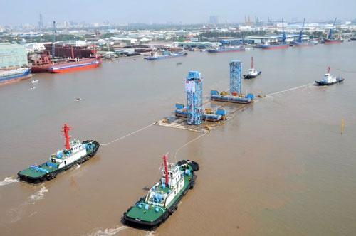 Quá trình xây dựng hầm vượt sông lớn nhất Đông Nam Á - ảnh 15