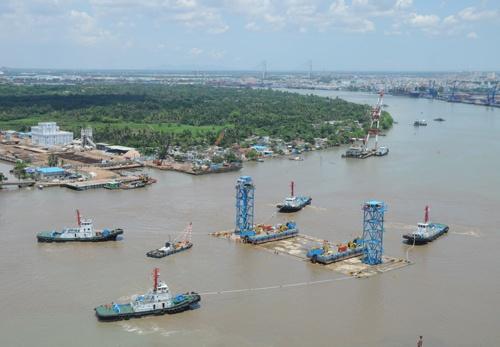 Quá trình xây dựng hầm vượt sông lớn nhất Đông Nam Á - ảnh 13
