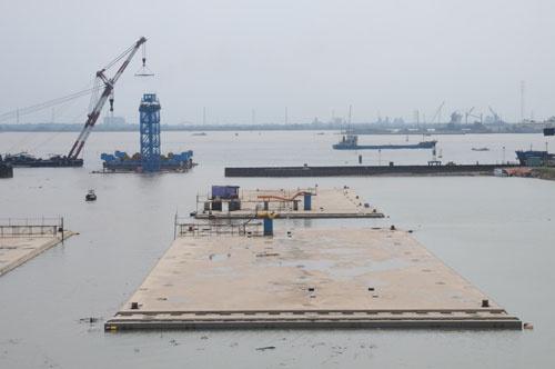 Quá trình xây dựng hầm vượt sông lớn nhất Đông Nam Á - ảnh 4