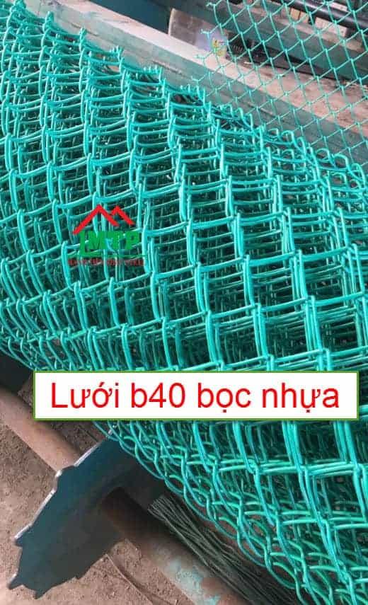 lưới b40 bọc nhựa