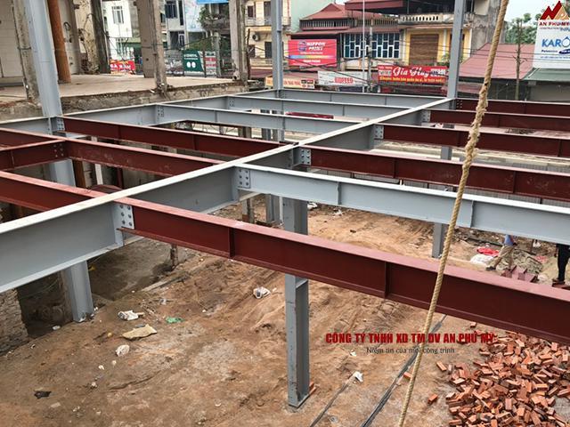 Quy trình xây dựng nền móng dành cho nhà thép tiền chế