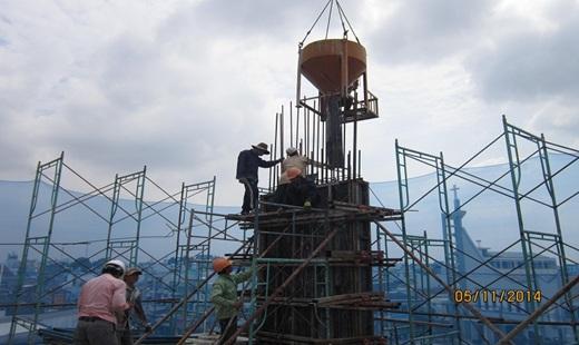 Hướng dẫn quy trình đổ bê tông cột, dầm, sàn dễ dàng thực hiện Kn17126