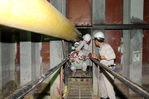 Quá trình xây dựng hầm vượt sông lớn nhất Đông Nam Á - ảnh 21
