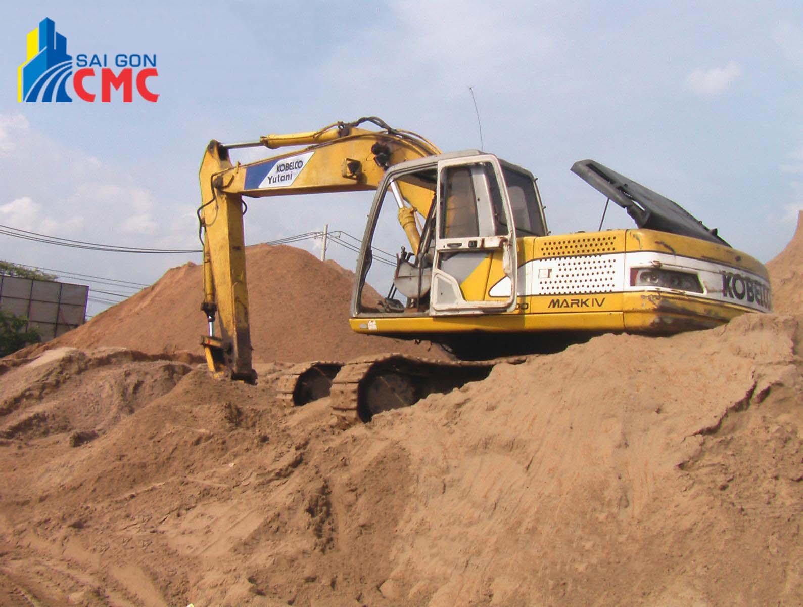Cát xây dựng quận Tân Bình