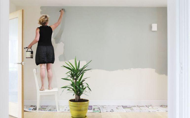 Vật liệu xây dựng hoàn thiện tường, trần